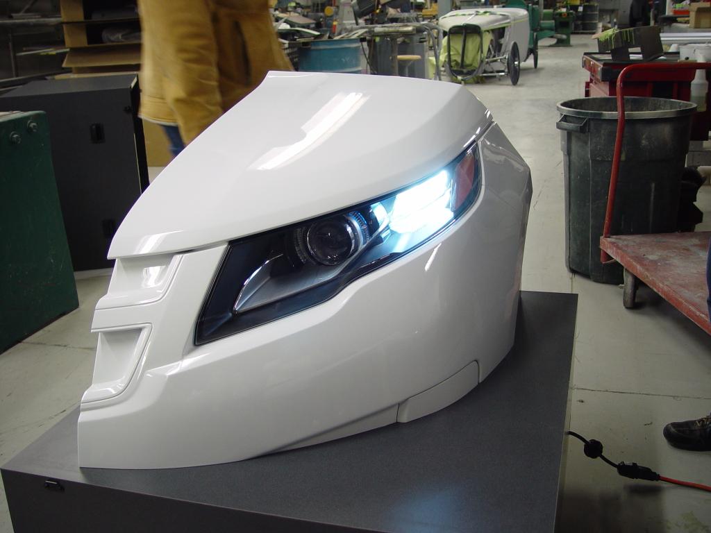plastic prototype Lighting Design Volt HL TL